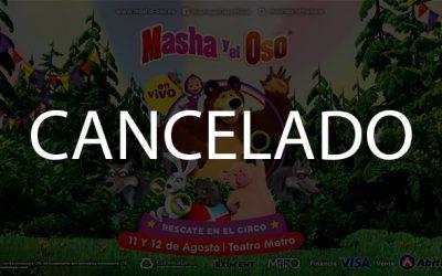 MASHA Y EL OSO FUE CANCELADO