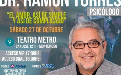 CANCELADO- Ramón Torres, Psicólogo