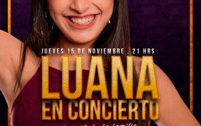 CANCELADO- Luana en concierto