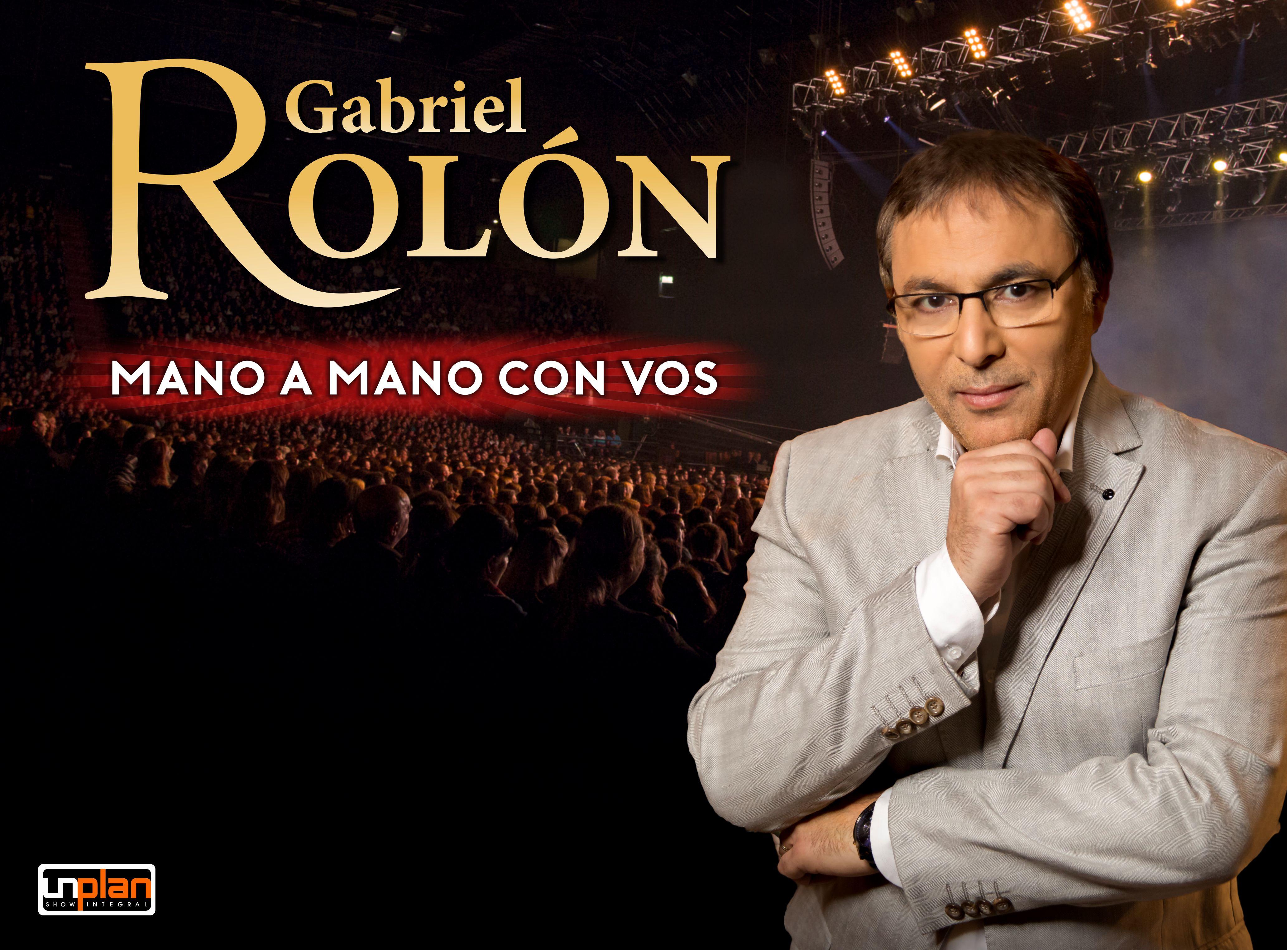 6 y 7 de diciembre-  Gabriel Rolón: mano a mano con vos
