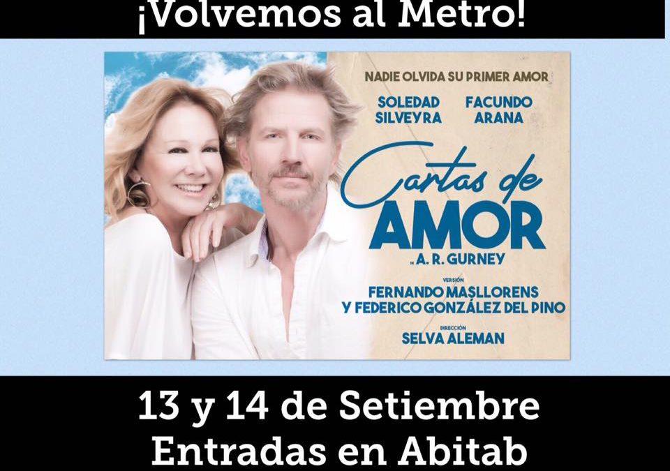 CARTAS DE AMOR – 13 y 14 de setiembre